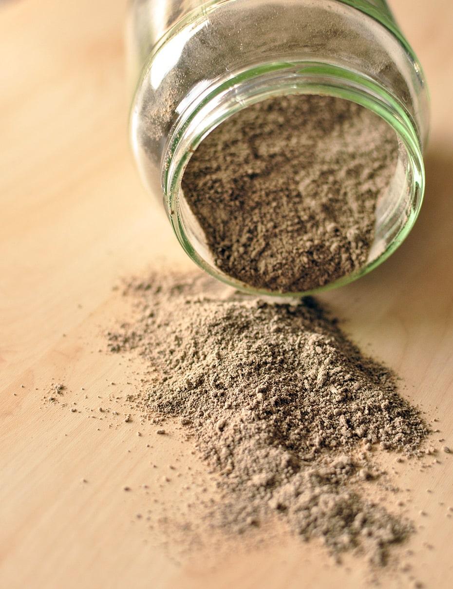 Kokos-Kaffee Haarwaschpuder mit Lavaerde | Schwatz Katz