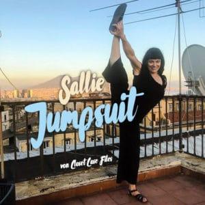 Mein Sommerfavorit Sallie Jumpsuit von Coset Case Files | Schwatz Katz