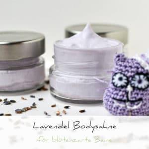 Lavendel Bodysahne für blütenzarte Beine | Schwatz Katz