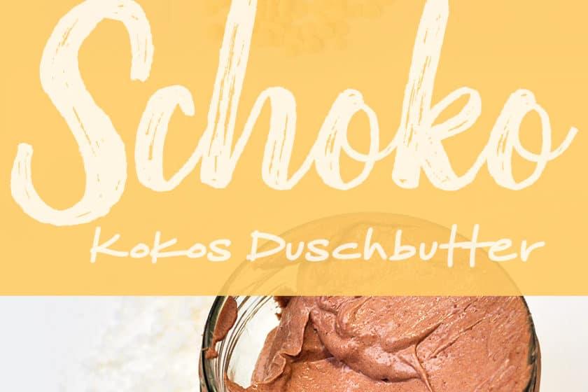 Schoko-Kokos Duschbutter | Schwatz Katz