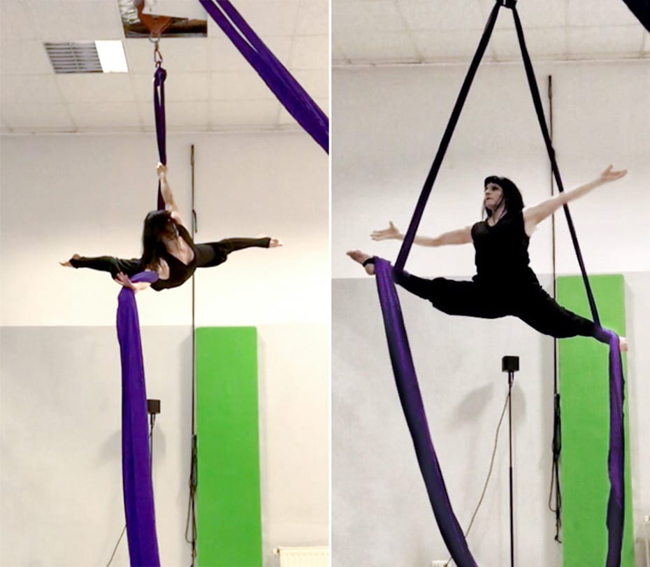 I love Aerial Silks | IVA Berlin