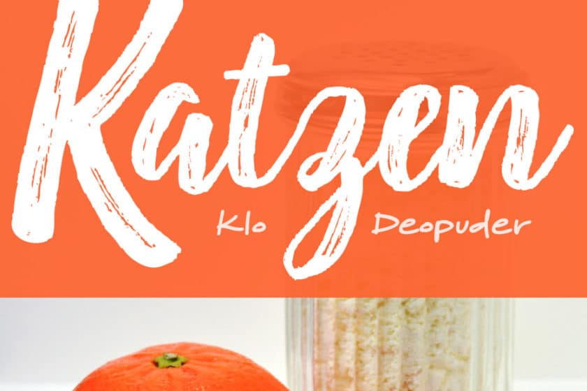 Katzenklodeo mit natürlichem Mandarinenaroma | Schwatz Katz