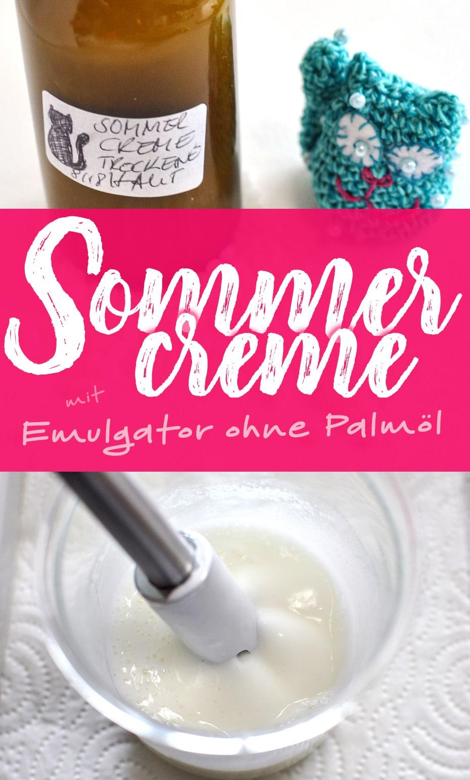 Sommercreme mit Emulgator ohne Palmöl | Schwatz Katz