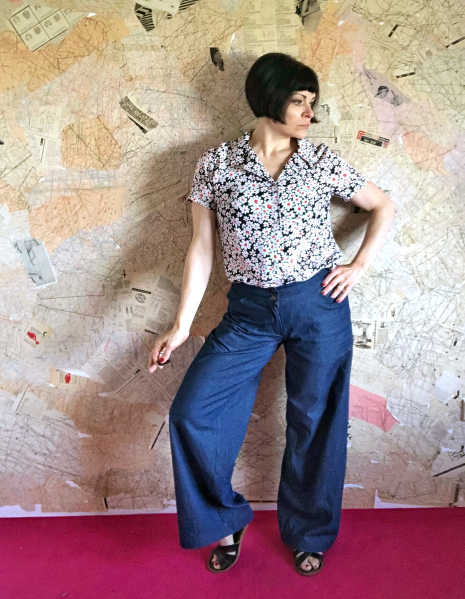 Endlich schöne Hosen dank Colette Juniper | Schwatz Katz