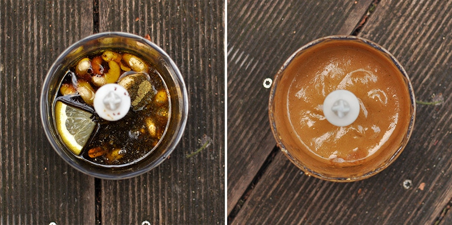 Mango-Avocado Buddha Bowl mit Sweet Cashew Dressing | Schwatz Katz