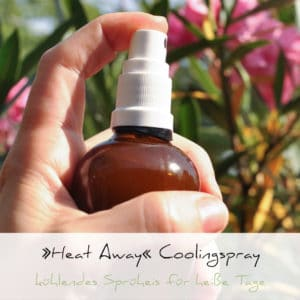 »Heat Away« Coolingspray | Schwatz Katz