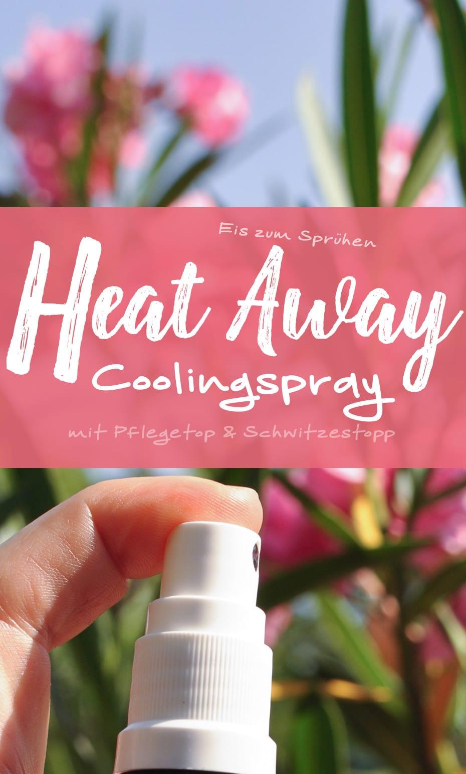 »Heat Away« Coolingspray | Schwatz Katz