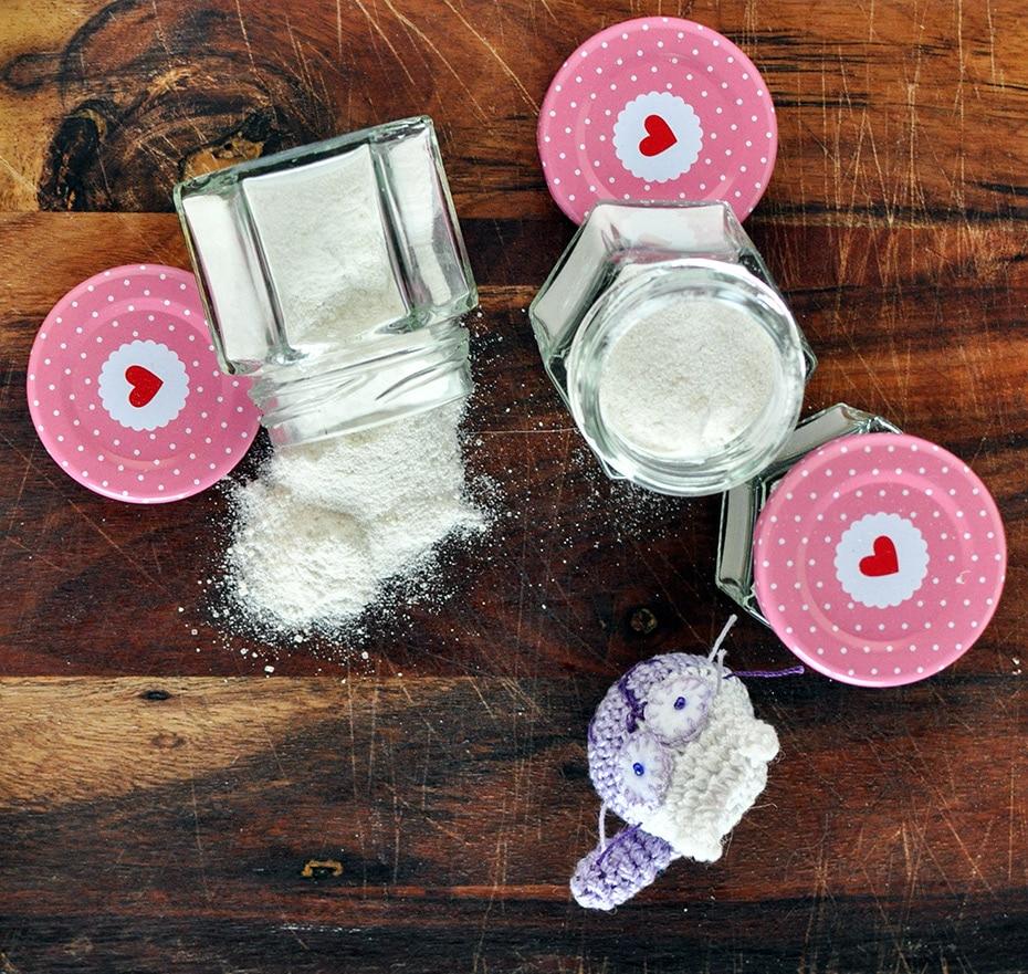 DIY Peeling einfach und effektiv mit Reismehl | Schwatz Katz