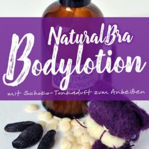 »NaturalBra« Schoko-Tonka Bodylotion | Schwatz Katz
