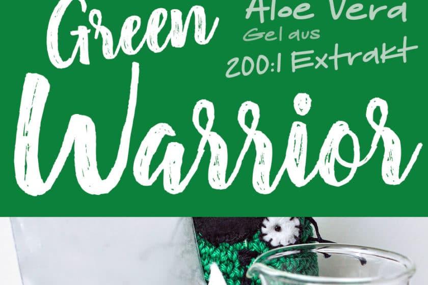 »Green Warrior« Aloe Vera Gel aus Aloe Vera Extrakt | Schwatz Katz