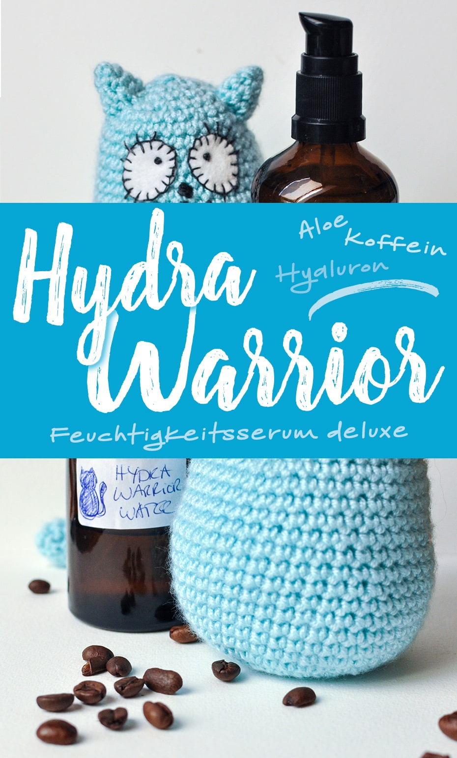 »Hydra Warrior« Feuchtigkeitsserum deluxe | Schwatz Katz