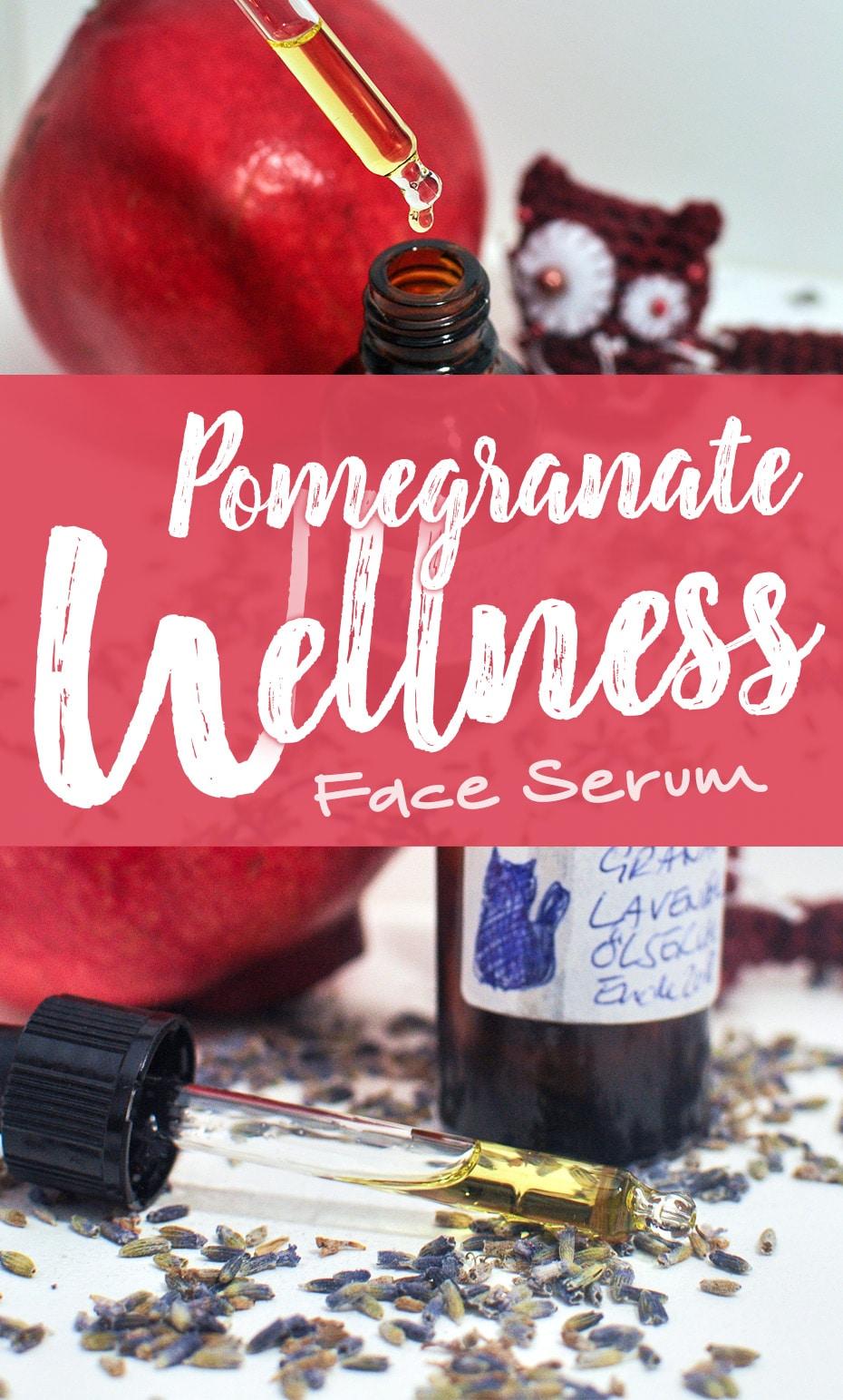 Pomegranate Wellness Serum zum Schönschlafen | Schwatz Katz