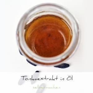 Tonkaauszug in Pflanzenöl selbermachen | Schwatz Katz