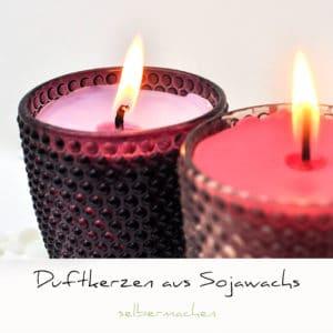Duftkerzen aus Sojawachs DIY | Schwatz Katz