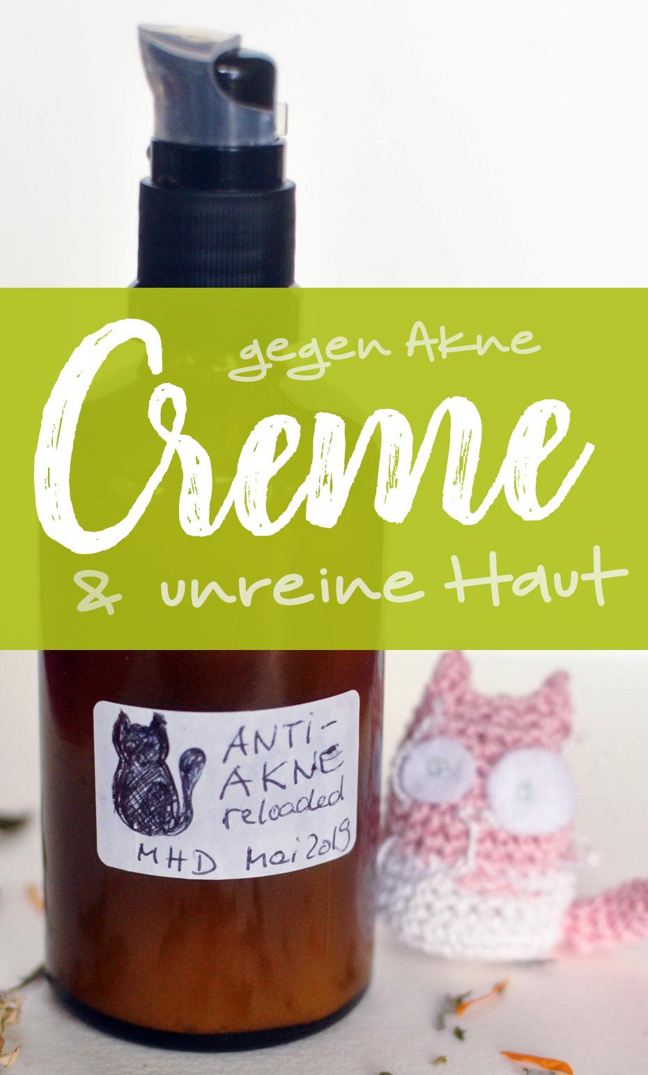 Creme gegen Akne & unreine Haut (überarbeitete Version) | Schwatz Katz