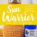 »Sun Warrior« After Sun Bodyspray | Schwatz Katz