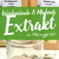 Weidenrindenextrakt & Mädesüßextrakt in Alkohol