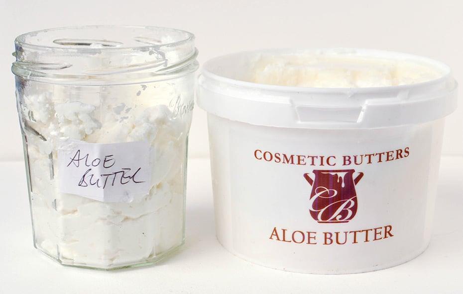 Aloe Vera Butter Vergleich gekauft vs selbstgemacht | Schwatz Katz