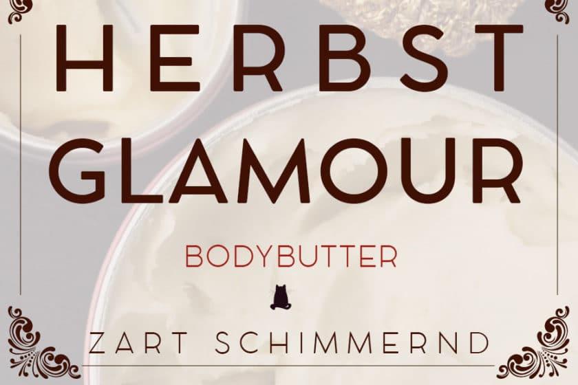 Herbst Glamour Butter, zart schimmernde Bodybutter | Schwatz Katz