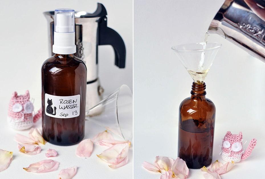 Rosenwasser aus der Mokkakanne | Schwatz Katz