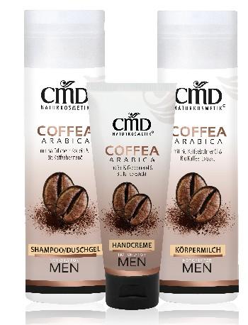 Pflegeserie Coffea Arabica von CMD Naturkosmetik