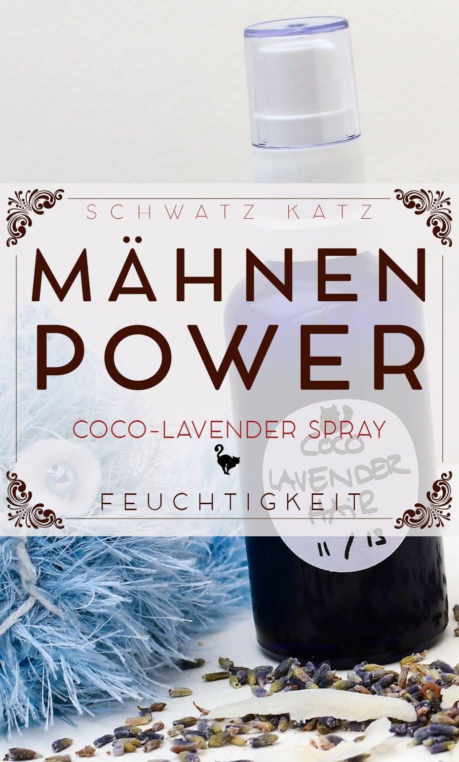 Feuchtigkeitsspray »Mähnenpower« für satte Haare | Schwatz Katz