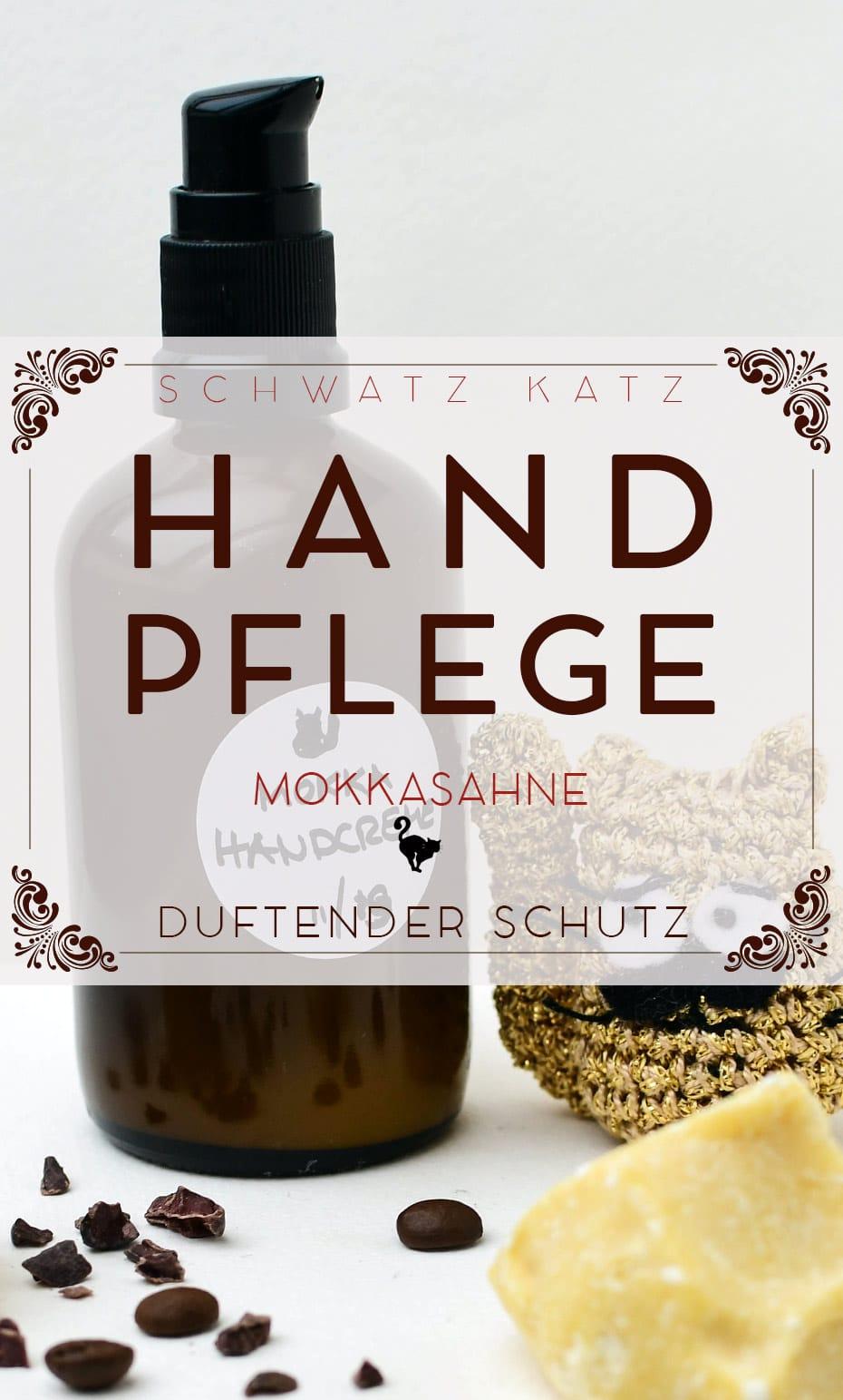 »Mokkasahne« Handpflegecreme gegen Winterhände
