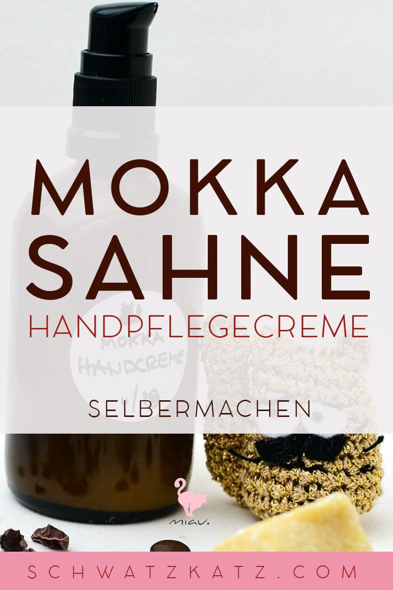 »Mokkasahne« Handpflegecreme gegen Winterhände | Schwatz Katz