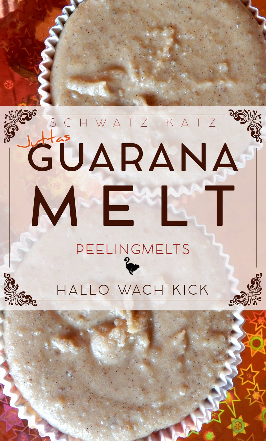 Guarana Bodypeeling Melt mit himmlischem Duft | Schwatz Katz