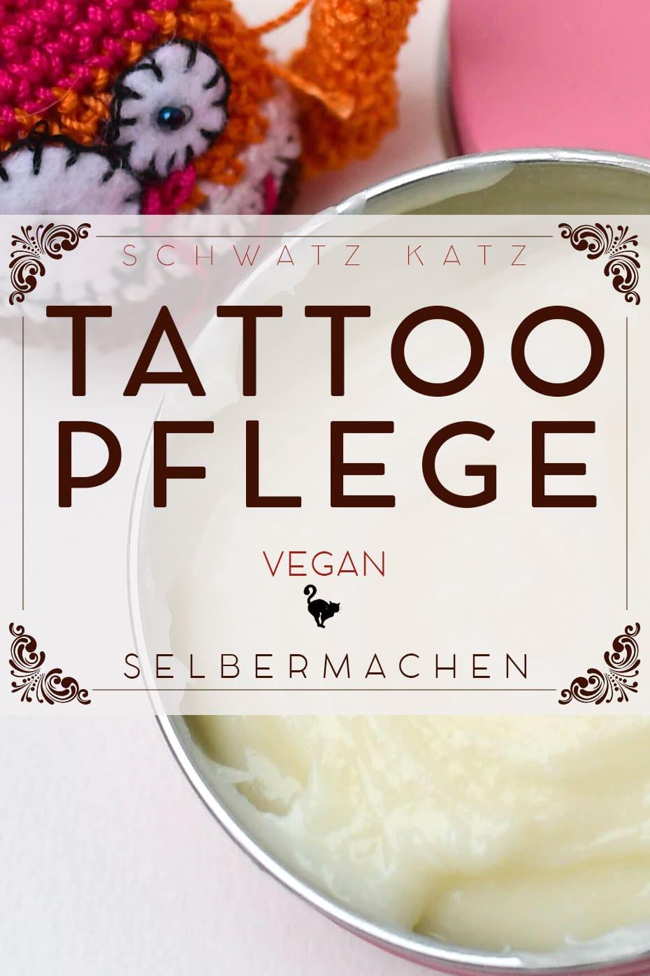 Vegane Tattoopflege mit Avocadin & Aloe Vera | Schwatz Katz