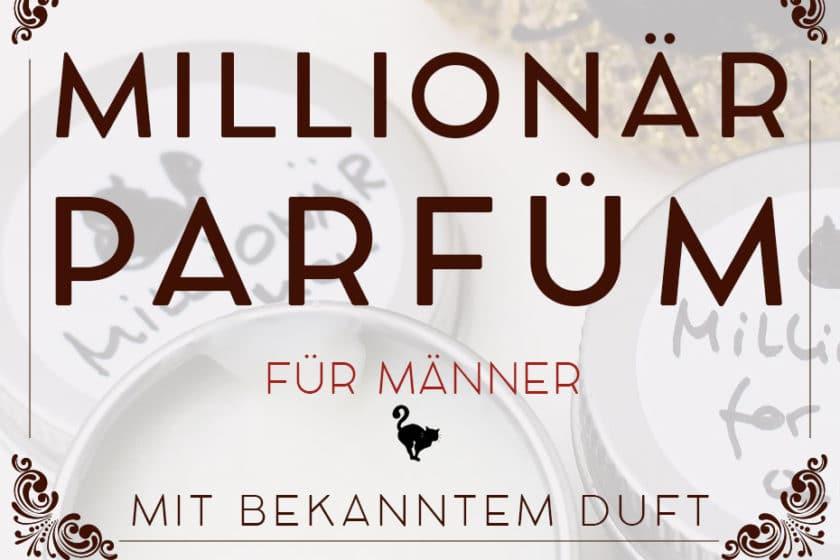 »Millionär« Festes Parfüm für Männer | Schwatz Katz