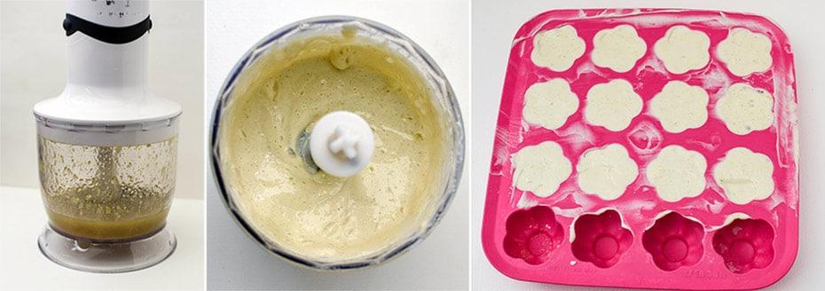 Duschbar aus Seifenresten »Bergamotte-Rosen-Minze« | Schwatz Katz