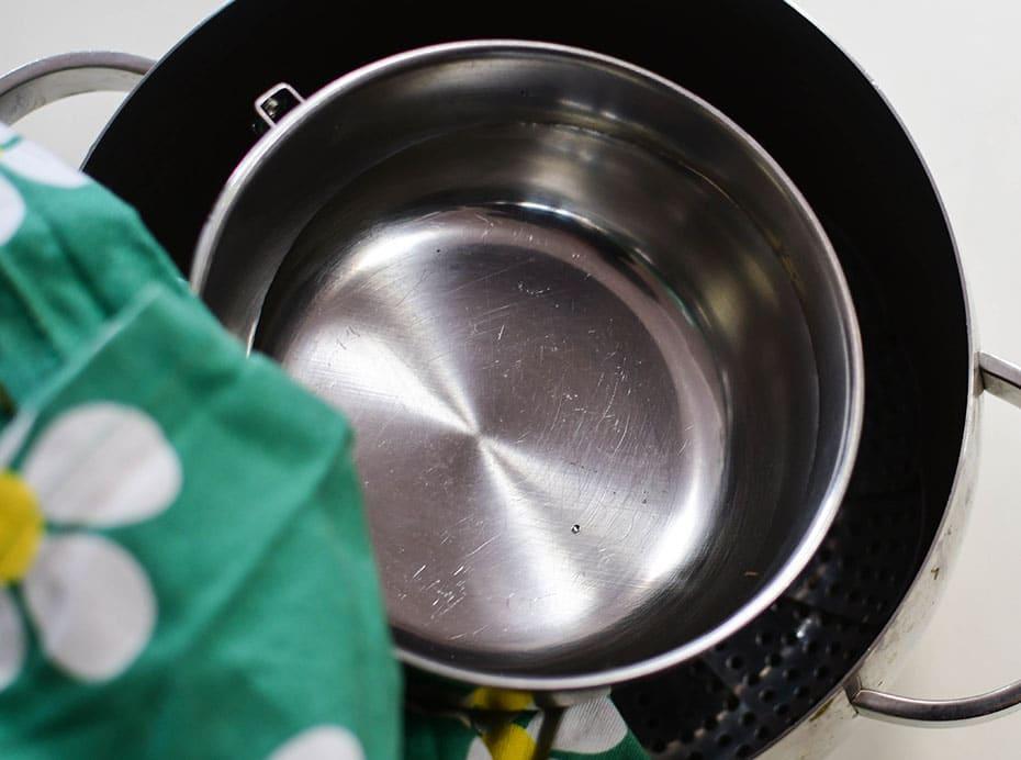 Destilliertes Wasser selbermachen im Kochtopf | Schwatz Katz