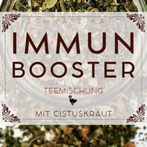 Immunsystem Booster Teemischung mit Cistuskraut | Schwatz Katz