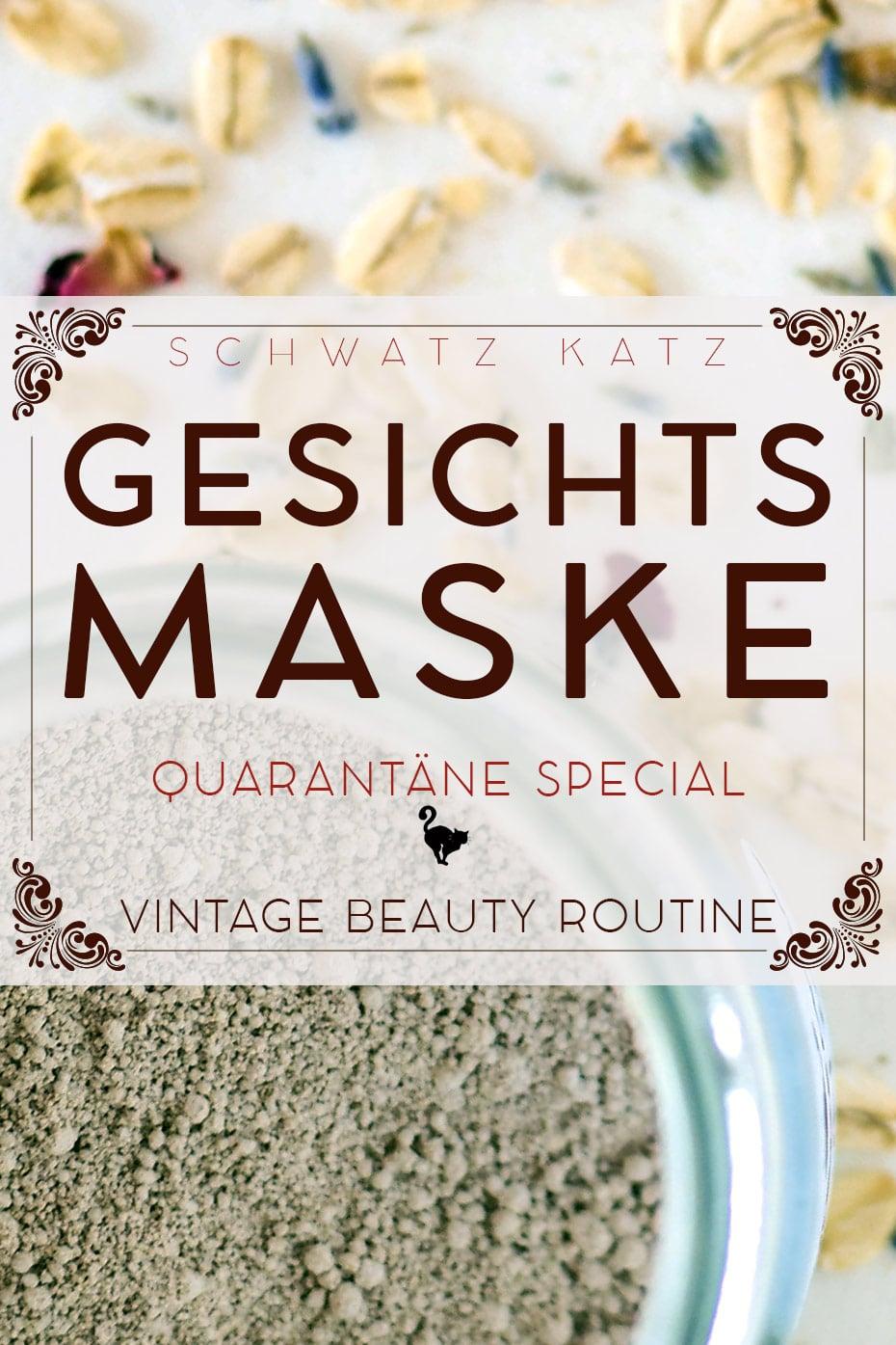 Quarantäne Special: Gesichtsmaske zusammenstellen | Schwatz Katz