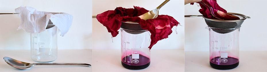 Hibiskus Glycerit filtern | Schwatz Katz
