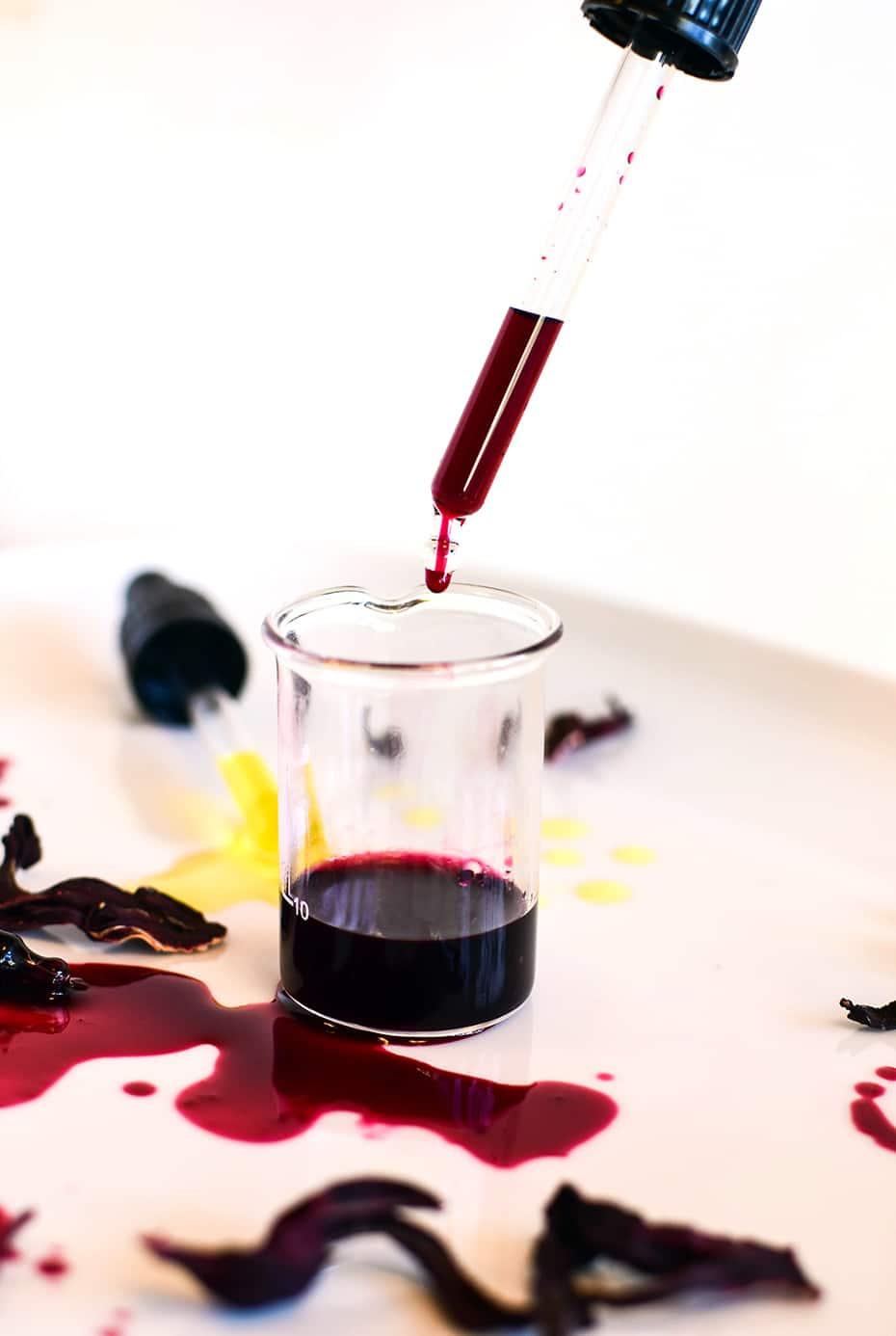 Hibiskus Extrakt in Alkohol | Schwatz Katz