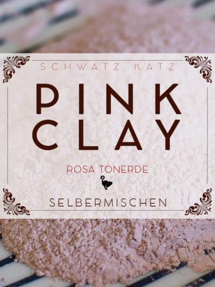 Pink Clay selbermachen »Himmelsand«   Schwatz Katz