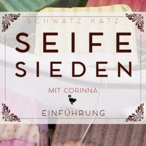 Seife sieden mit Corinna   Schwatz Katz