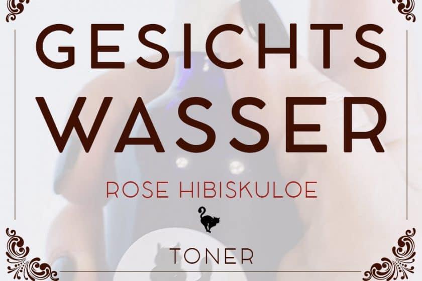Toner »Rose Hibiskuloe« zum Anpassen an deinen Hautzustand | Schwatz Katz