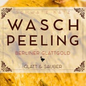 Babassu Waschpeeling »Berliner Glattgold« mit mildem Tensid | Schwatz Katz