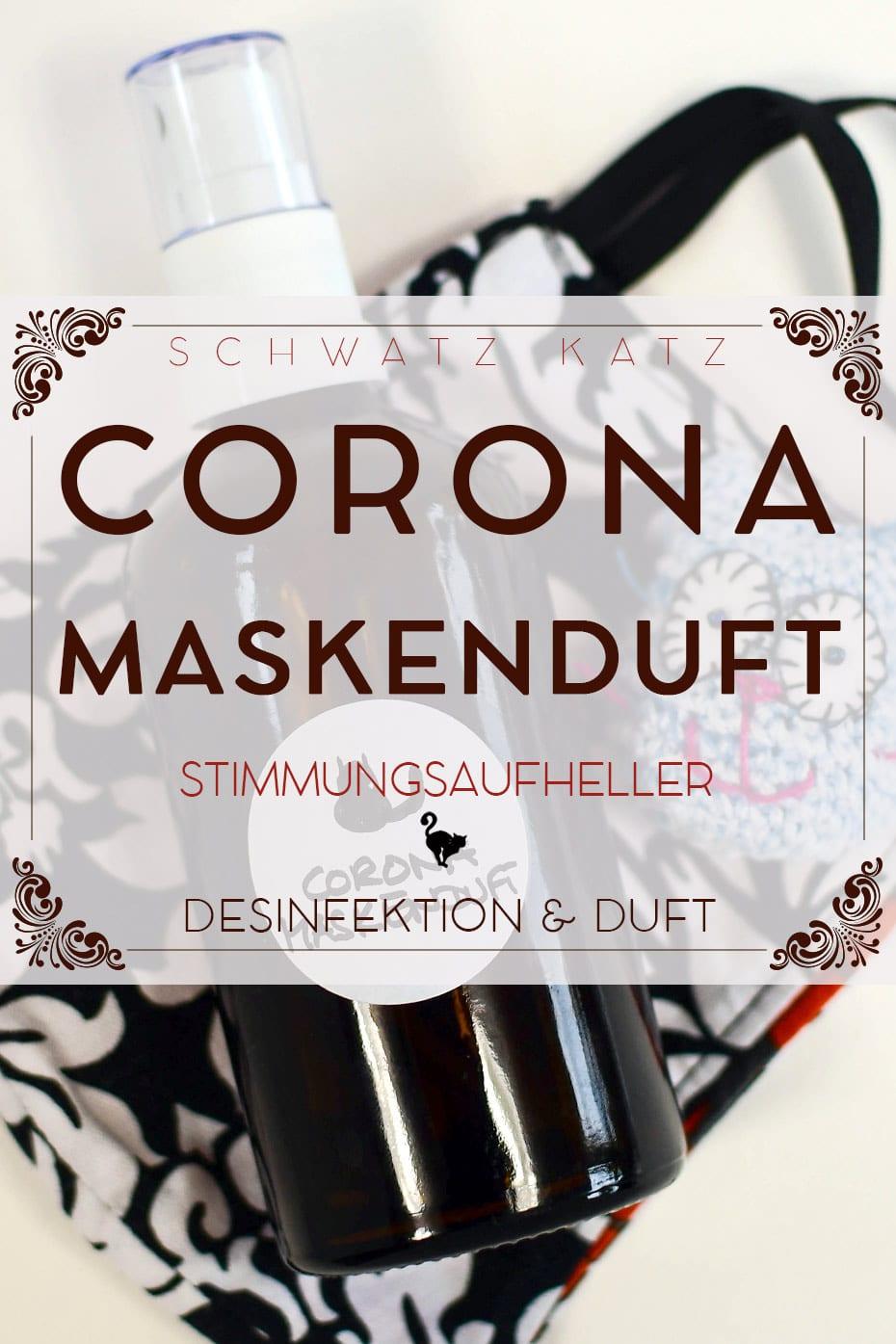 Corona Masken Parfüm mit Desinfektionswirkung | Schwatz Katz