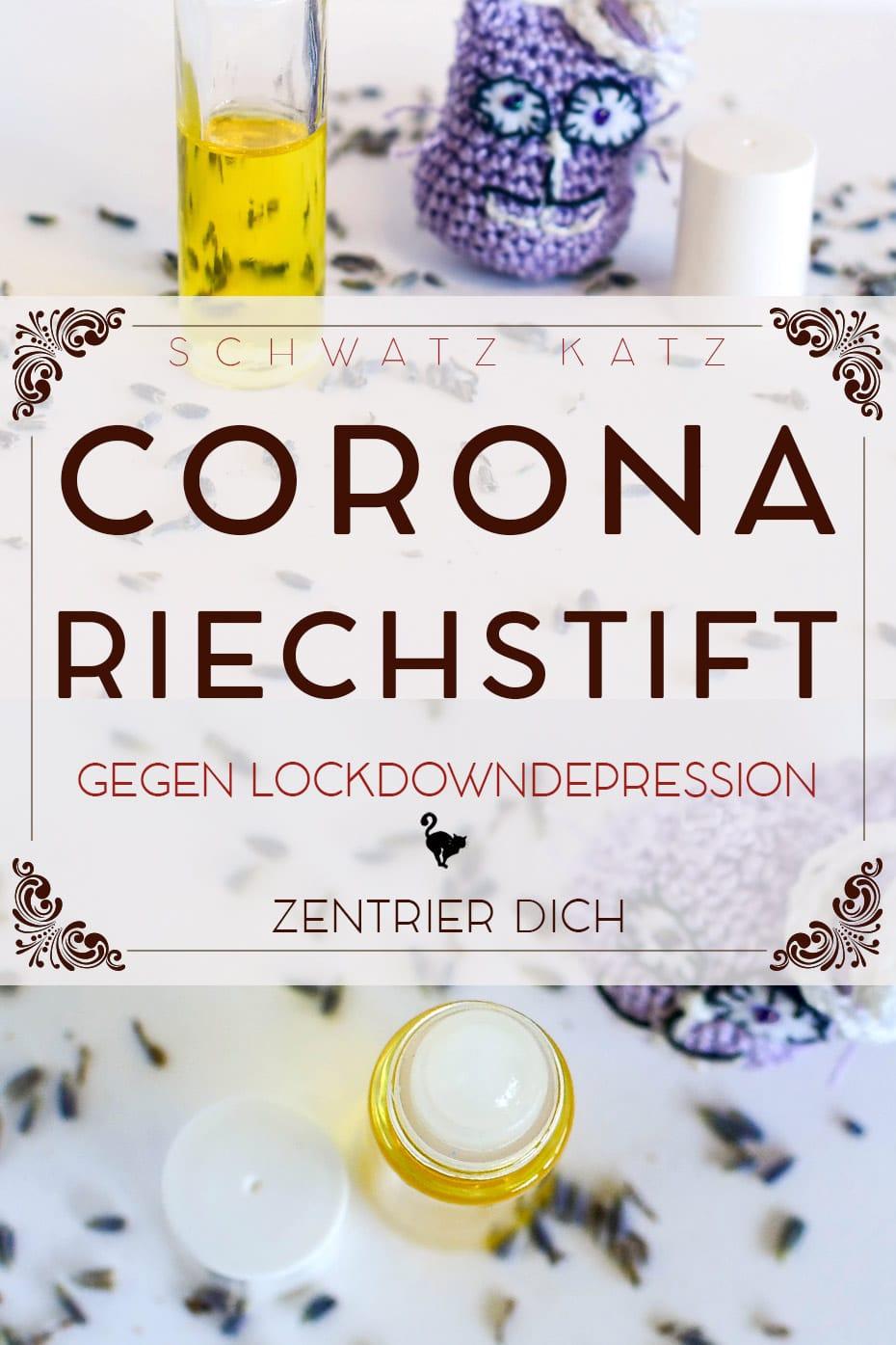 Riechstift gegen Corona-Depression | Schwatz Katz