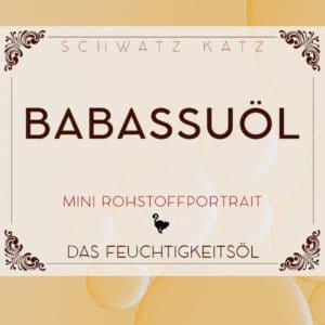 Babassuöl Mini Rohstoffportrait von Schwatz Katz
