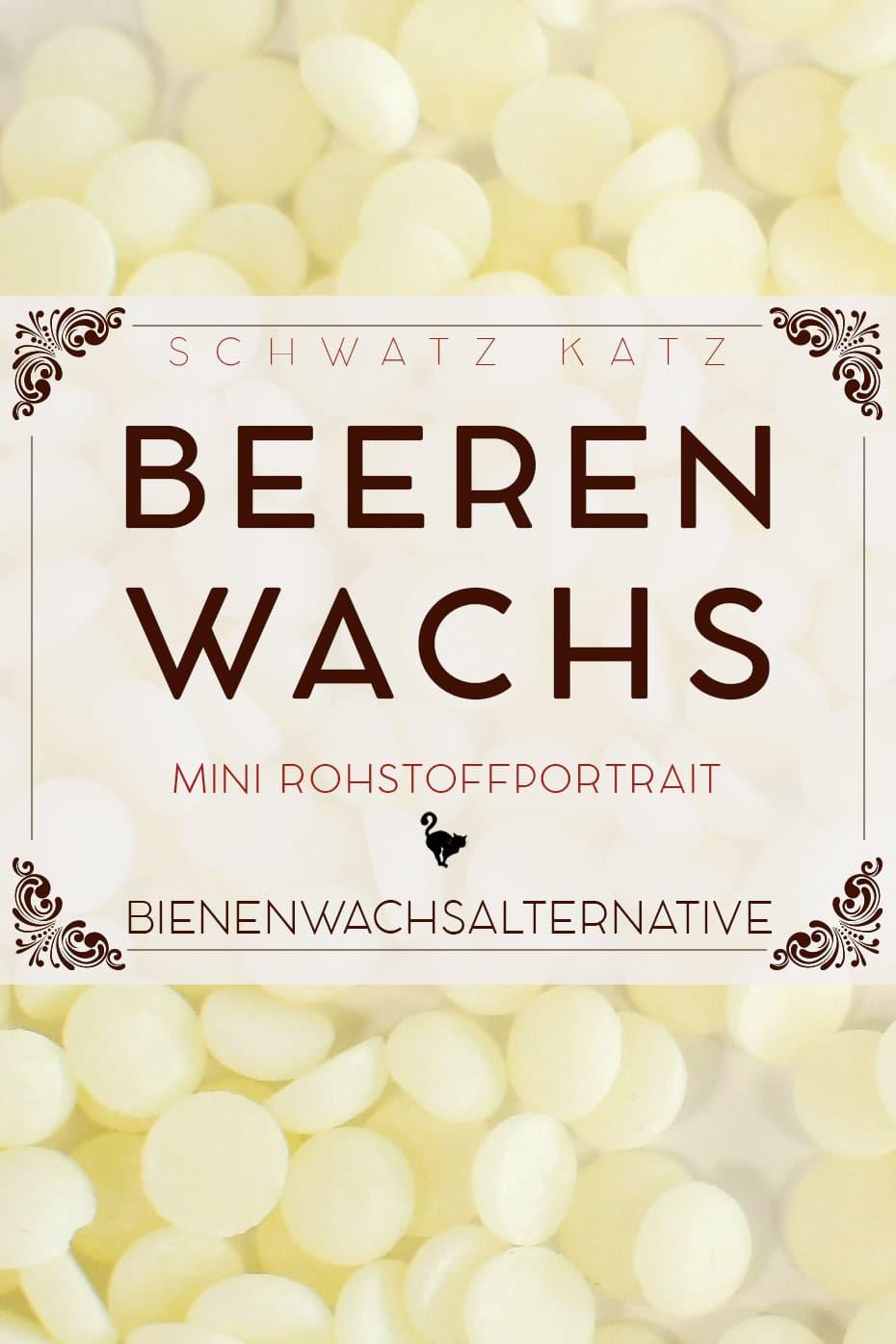 Beerenwachs Mini Rohstoffportrait von Schwatz Katz