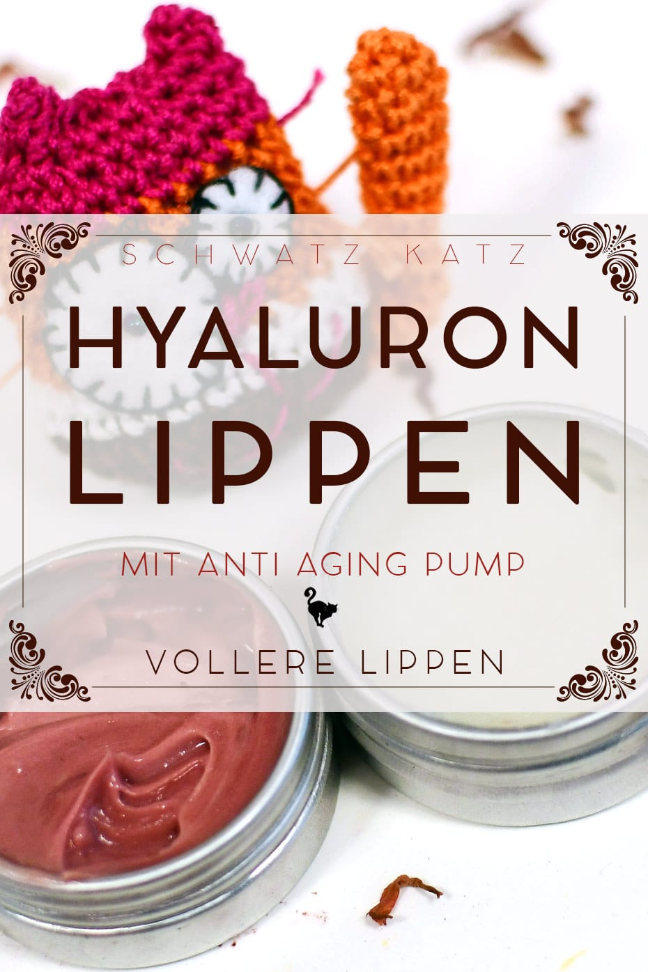 Hyaluron Lippenpflege mit Anti Aging Pump »Oh là là« | Schwatz Katz