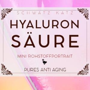 Hyaluronsäure Mini Rohstoffportrait von Schwatz Katz
