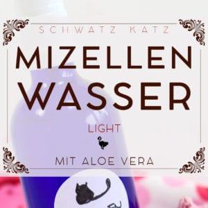 Mizellenwasser Light Spray zur sanften Gesichtsreinigung | Schwatz Katz
