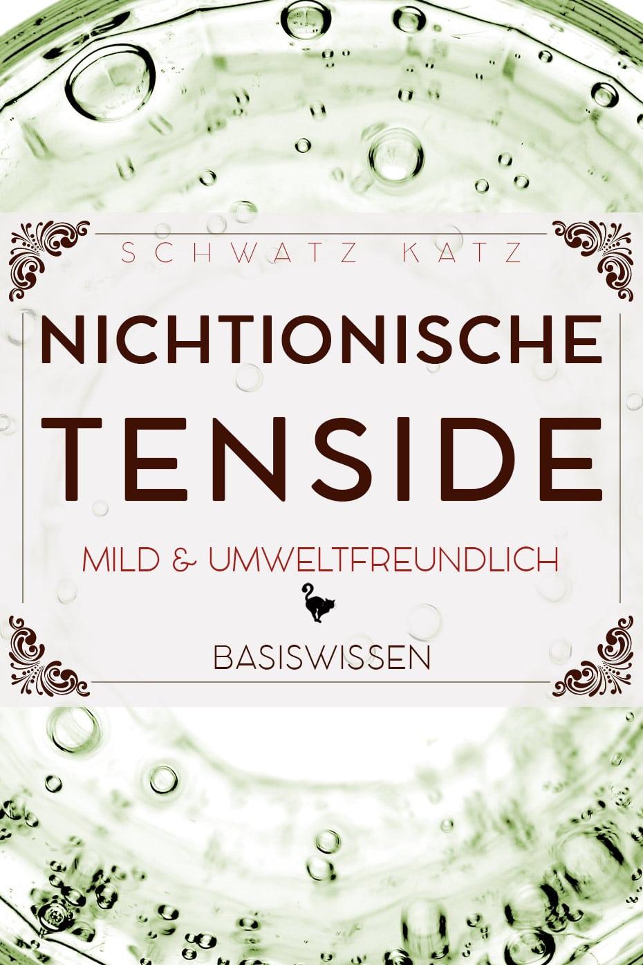 Nichtionische Tenside | Schwatz Katz