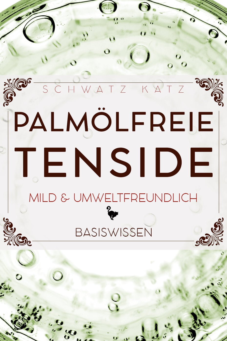 Anionische Tenside | Schwatz Katz